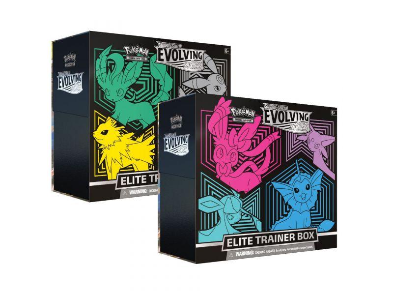Pokémon TCG Evolving skies 7 Elite Trainer Box  Assorti Evolving skies