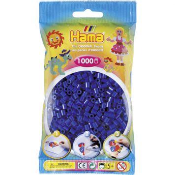 Hama Strijkkralen 1000 Stuks Donkerblauw