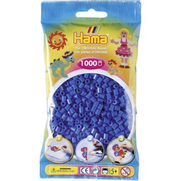 Hama Strijkkralen 1000 Stuks Lichtblauw