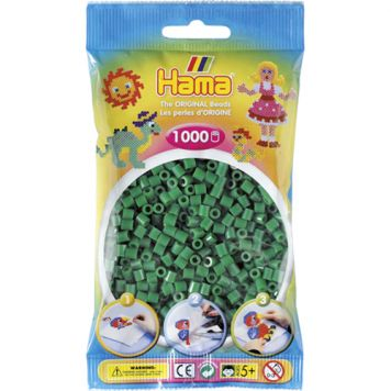 Hama Strijkkralen 1000 Stuks Groen