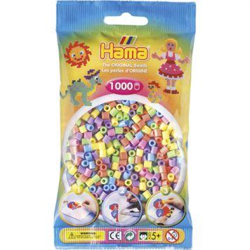 Hama Strijkkralen 1000 Stuks Pastelkleuren