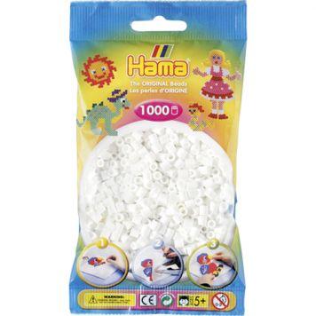 Hama Strijkkralen 1000 Stuks Wit