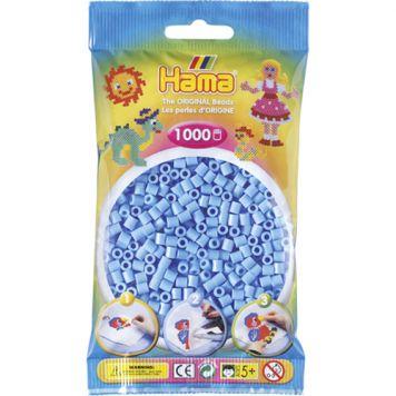 Hama Strijkkralen 1000 Stuks Blauw