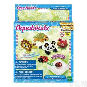 Aquabeads 31447 3D Dierenset