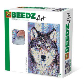 SES BEEDZ ART: Strijkkralen Wolf