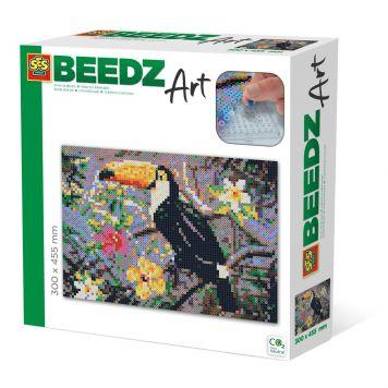 SES BEEDZ ART: Strijkkralen Toekan