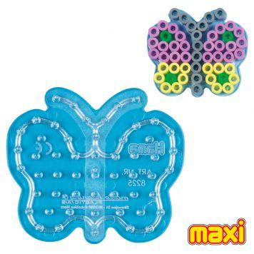 Maxi Strijkkralen Grondplaat Hama Vlinder