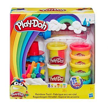 Play Doh Rainbow Twirl