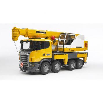Bruder Scania/Liebherr Hijskraan Kraanwagen