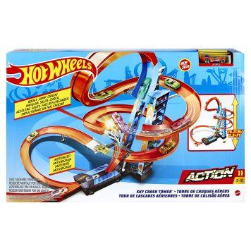 Hot Wheels Action Wolkenkrabber Crash Speelset