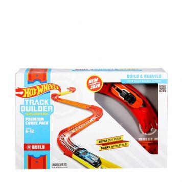 Hot Wheels Track Builder Premium Bochtenset