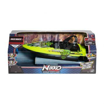 R/C Raceboot 1:16 Groen Nikko