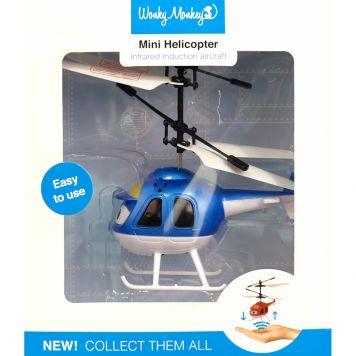 Wonky Monkey Helicopter Blauw