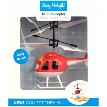 Wonky Monkey Helicopter Rood