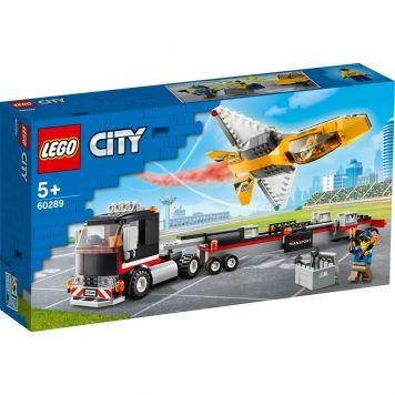 LEGO City 60289 Vliegshowjettransport