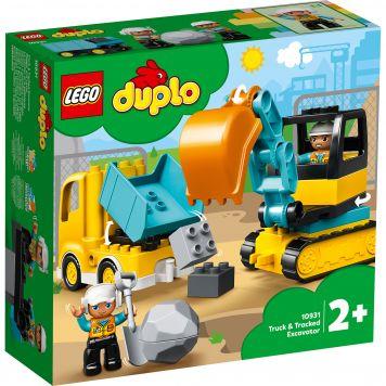 LEGO DUPLO 10931 Truck & Graafmachine Met Rupsbanden