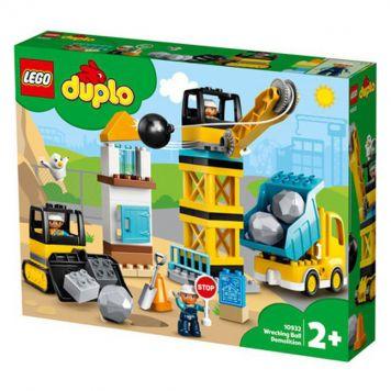 LEGO DUPLO 10933 Torenkraan & Bouwterrein
