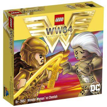 LEGO DC Comics Super Heroes 76157 Wonder Woman Vs Cheetah