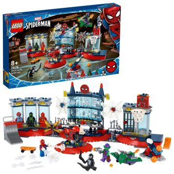 LEGO Marvel Spider-Man 76175 Aanval Op De Spider Schuilplaats