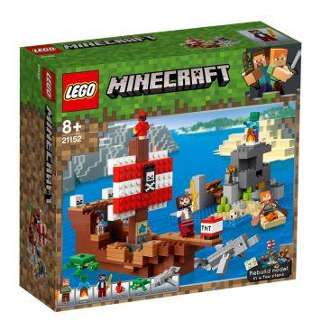 LEGO Minecraft 21152 Avontuur Op Het Piratenschip