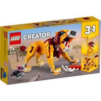 LEGO Creator 31112 Wilde Leeuw 3in1