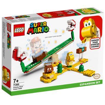 LEGO Super Mario 71365 Uitbreidingsset: Piranha Plant-Powerslide