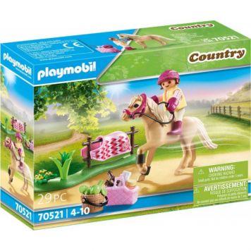 Playmobil 70521 Collectie Pony - Duitse Rijpony