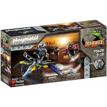 Playmobil 70628 Pterandon Aanval Vanuit De Lucht