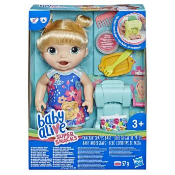 Baby Alive Snackin Shapes Baby Blond