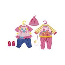 Baby Born Little Nice Outfit 2 Assorti 36 Cm