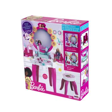 Kaptafel Barbie Licht Geluid Battery Operated