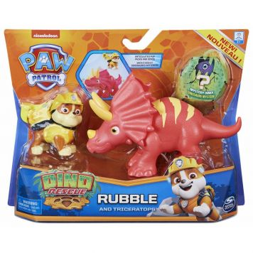 PAW Patrol Dino Rescue  Dino Action Pack Pup  Rubble