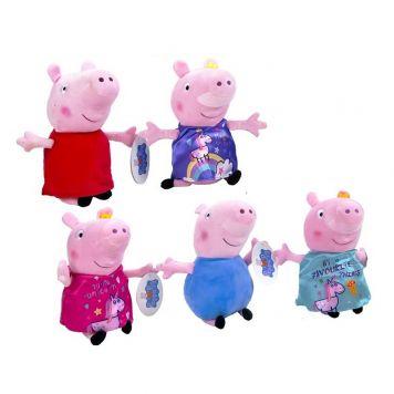 Pluche Peppa Pig 31 Cm Assorti