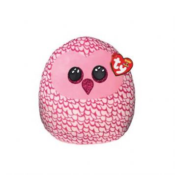 Ty Squish-A-Boo Pinky Owl 25 Cm