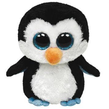 Ty Beanie Pinguïn Waddles 15cm