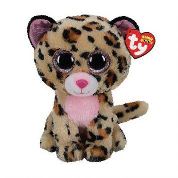Ty Beanie Livvie Leopard 24 Cm