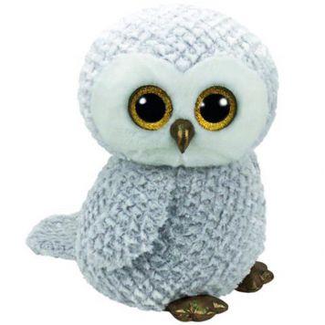 Ty Beanie XL Witte Uil Owlette 42 Cm