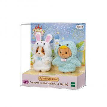 Sylvanian Families 5594 Costume Cuties  Bunny & Birdie