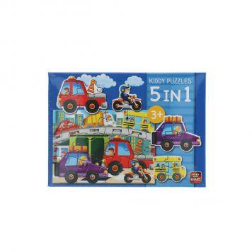 Puzzel Traffic 5 In 1