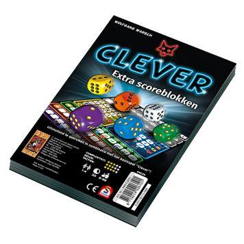 Spel Clever Scoreblok 2 Stuks