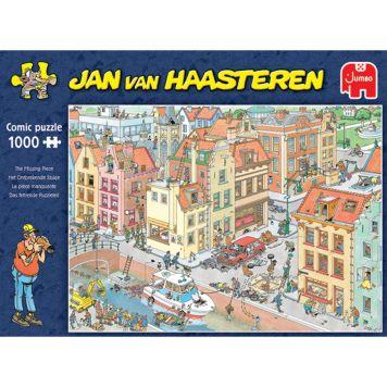 Jan Van Haasteren Puzzel Het Ontbrekende Stukje  1000 Stukjes