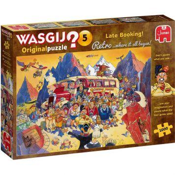 Puzzel Wasgij Retro Original 5 Last Minute Boeking 1000 Stukjes