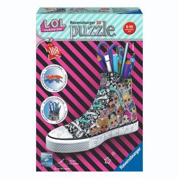 Ravensburger Puzzel 3D Sneaker L.O.L Surprise
