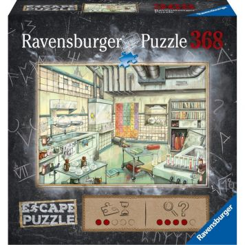 Ravensburger Puzzel Escape Chemistry Lab 368 Stukjes