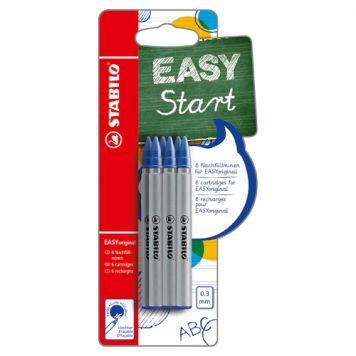 Stabilo Easy Original Refill Blauw