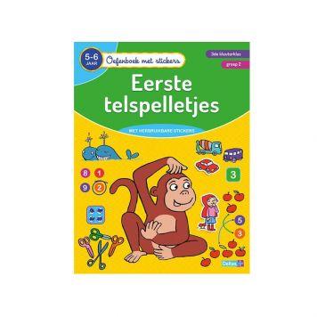 Oefenboek Stickers Telspel 5-6 Jaar