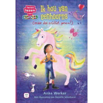 Boek Ik Hou Van Eenhoorns (Maar Dat Is Een Giga Geheim!) AVI E3