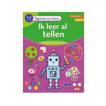Oefenboek Stickers Tellen 4-5 Jaar