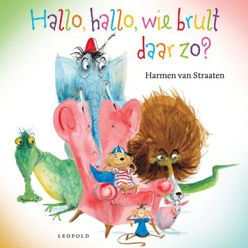 Boek Hallo Hallo Wie Brult Daar Zo? Prentenboek