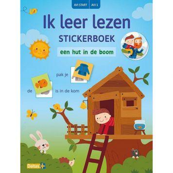 Stickerboek Avi Start Ik Leer Lezen Een Hut In de Boom